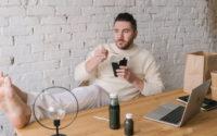 Essen im Home Office – vernetzt und doch einsam
