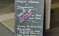 Wovon nährt sich der Philosoph?